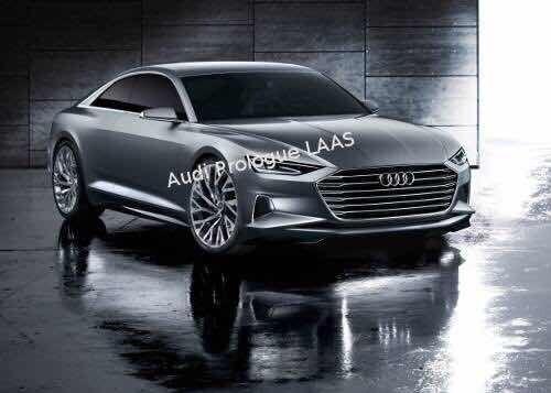 奥迪A9概念车提前曝光 洛杉矶车展首发
