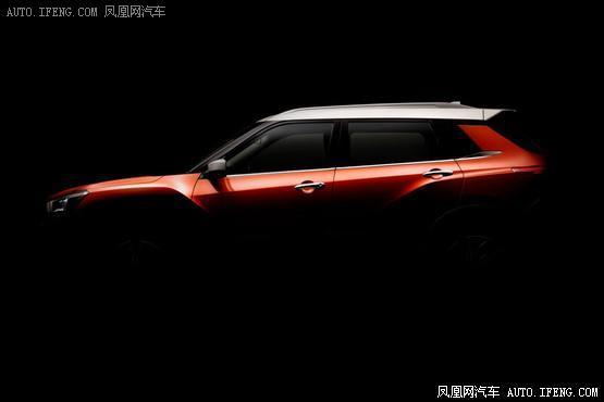 东风启辰全新小型SUV预告图 年轻动感