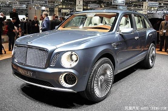 全新宾利SUV车型将发 起售约100万元