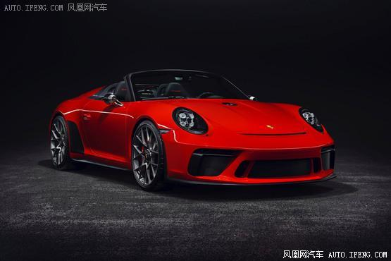 保时捷911 Speedster概念车将量产 搭4.0L动力/总计1948台