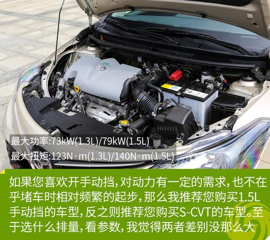 丰田威驰FS购车指南 锋潮版最值得推荐高清图片
