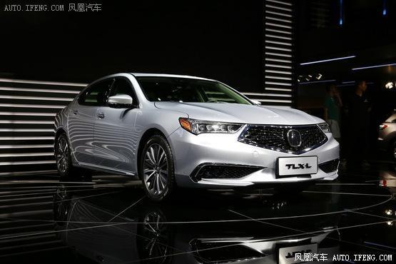 2017成都车展:广汽讴歌TLX-L正式发布