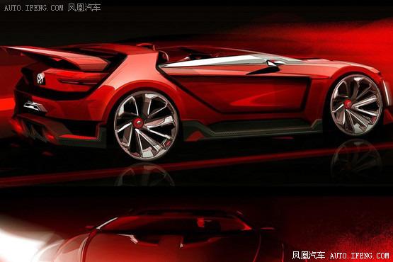 曝高尔夫gti概念车设计图 5月29日发布