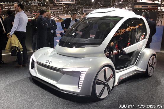 2018日内瓦车展:奥迪Pop.Up NEXT飞行车