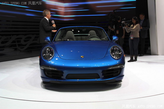 新保时捷911 Targa 4 Targa 4S 发布