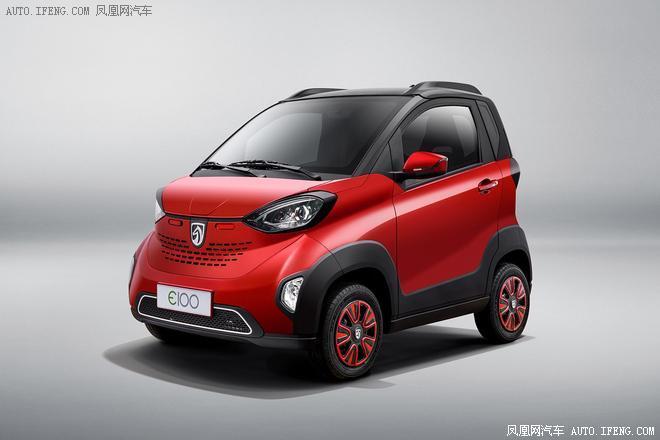 2018款宝骏E100上市 仅在广西/山东销售