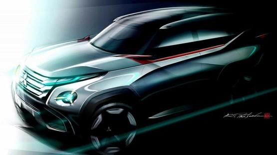 三菱全新概念车高清图片