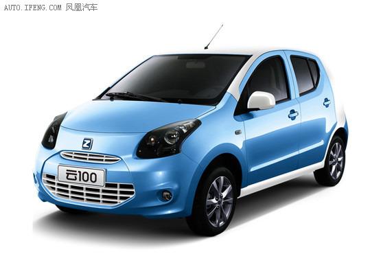 众泰云100纯电动车上市 售15.89万元高清图片
