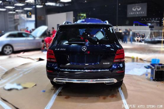 外观造型部分,北京奔驰glk200的外形设计与glk260基本保持高清图片