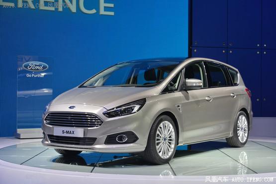福特新一代s-max的外观基本延续了s-max概念车的造型,2015高清图片