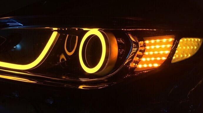 汽车大灯配光镜养护注意事项