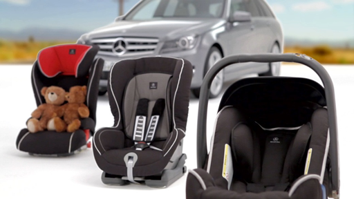 奔驰原厂儿童座椅关爱儿童乘车安全