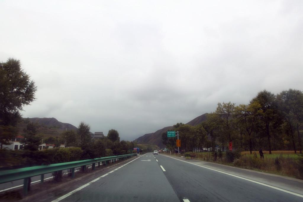 兰州西高速风景照片
