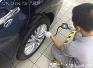 胎压明明加够了,为什么轮胎还是有点瘪?