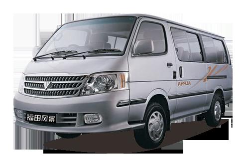 福田风景 2.8T 快运系列经典型短轴版 4JB1T