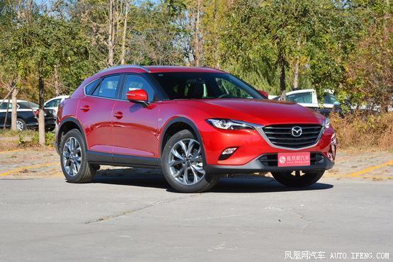 长春购马自达CX-4优惠0.9万元 仁德现车
