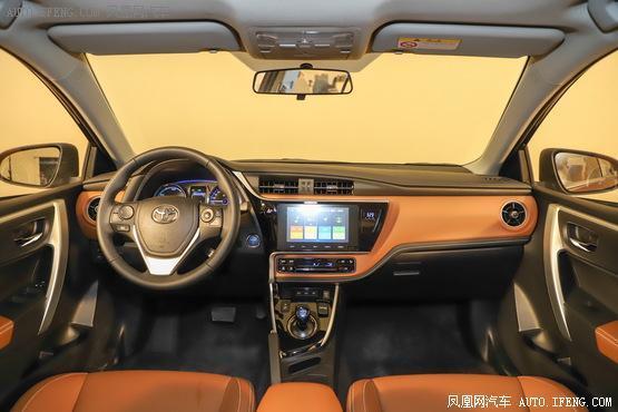 2019款 丰田雷凌双擎E+ 1.8PH V 豪华版