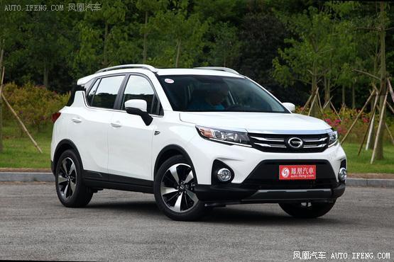 2019款傳祺GS3 1.5L車型上市 售7.38-8.88萬元