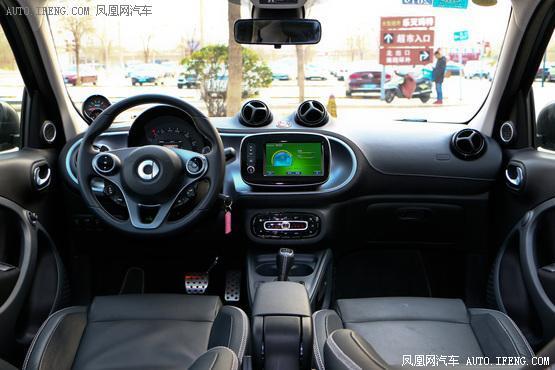 2017款 smart forfour BRABUS Xclusive